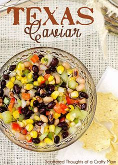 Texas Caviar | 15 Potluck Recipes That'll Save Your Life This Summer
