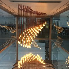 """""""#designmuseum #shadthames""""  See the new Plumen 002 featured in Light Wave at - http:www.plumen.com"""