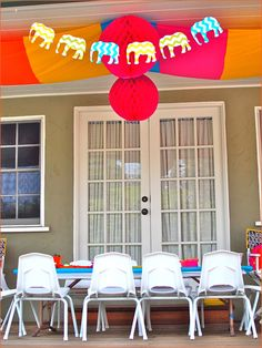REAL PARTIES: Indian Elephant Theme