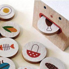 Shusha Toys edible inedible game