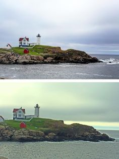 Difference between Canon 5D Mark 3 and iPhone 5S. Http://www.jaysonsphotography.com #lighthouses #photography #weddingphotographers
