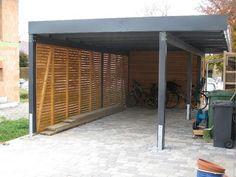 modern and simple carport lloyd hamilton modern outdoors. Black Bedroom Furniture Sets. Home Design Ideas