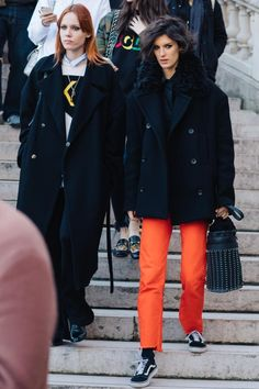 Street style at Fashion Week fall-winter 2017-2018 from Paris