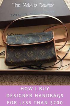 How I Designer Handbags For Less Than 200 Dollars