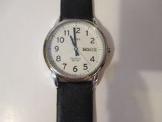 MEN'S TIMEX INDIGLO QUARTZ WATCH,WR 30 METERS ANALOG,DAY & DATE,EASY TO READ  #Timex #Casual