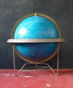 12 inch Cram's Celestial Globe. 1960s. by abrshop on Etsy