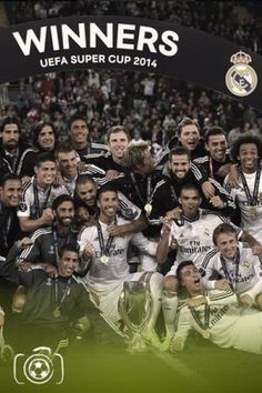 Real Madrid Super Cup Winners