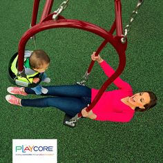 Promote inclusion and attunement with the Expression Swing! Kids Backyard Playground, Backyard For Kids, Graduation Project, Baby Accessories, Charlotte, Interior Design, Ladder, Museums, Parks