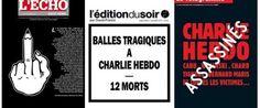 Charlie Hebdo, copertine giornali: i quotidiani francesi e quelli stranieri raccontano così lattentato (FOTO)