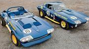Corvette connoisseur Bill Durr overcomes adversity to build his dream Vette, this Marina Blue 1966 Chevrolet Grand Sport Corvette. Read his story here!