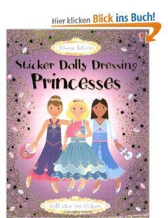 Princesses: Sticker Dolly Dressing Usborne Sticker Fashion: Amazon.de: Fiona Watt: Englische Bücher