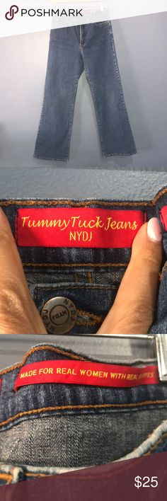 """Nydj tummy tuck flare jeans size 10p Great condition Fabulous quality  Inseam around 27"""" not your daughters jeans Jeans Flare & Wide Leg"""