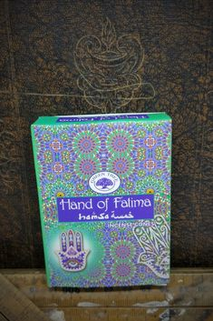 These Hand of Fatima incense cones are smooth and natural masala incense cones to create an inviting aroma. These incense cones are made according to traditional Indian recipes using methods unchanged in 400 years. They come in a colorful display box containing 10 incense cones. 100% natural ingredients of herbs, gums, resins, woods and oils, with a burn time of approximately 20 minutes. 10 Cones in Pack, includes small metal holder. Free Postage to any address in Australia on orders over… Incense Cones, Hand Of Fatima, Resins, Display Boxes, Recipe Using, Indian Food Recipes, Woods, Smooth, Herbs