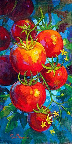 Flourishing on the Vine by Simon Bull