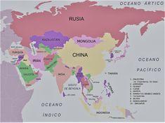 Las Mejores 9 Ideas De Continente De Asia Continente De Asia Mapa De Asia Asia