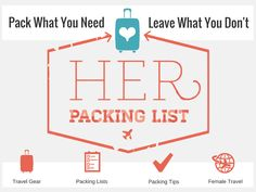 About Her Packing List