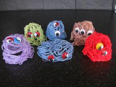 Lil' Wool Monsters!