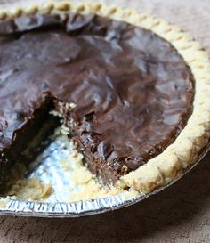 3 Ingredient Sweetened Condensed Chocolate Milk Pie — Jessie Unicorn Moore For me, sweetened condensed milk is a bit like the dessert equivalent of sriracha sauce. That is to say, I like to use it as a sauce for any and everything. I mean, seriously, h Chocolate Fudge Pie, Chocolate Pie Recipes, Chocolate Desserts, Chocolate Meringue, Condensed Milk Desserts, Sweet Condensed Milk, Sweetened Condensed Milk Fudge, Recipes Using Condensed Milk, Cake