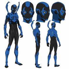 Jaime Reyes aka Blue Beetle from Justice League vs Teen Titans, Loved working on this movie! Rogue Comics, Dc Comics Art, Superhero Characters, Dc Comics Characters, Teen Titans, Blue Beetle Young Justice, Comic Character, Character Concept, Concept Art