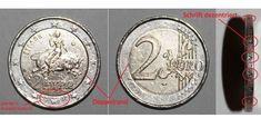 Γιατί αυτά τα ελληνικά κέρματα των 2 ευρώ μπορούν να πιάσουν και 80.000 ευρώ στο ebay [εικόνες] Coins, Personalized Items, Bacon, Ebay, Rooms, Pork Belly