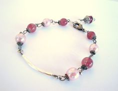 Beautiful Antique looking Bracelet, Adjustable, Made by Pennie at Pernilla's Something Swedish. PernillasSS, $15.99