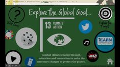 Explore the UN Global Goals with many activities, readings, and games that connect with each goal in this virtual classroom! Great for back-to-school and distance learning. #SDGs #GlobalGoals #teachSDGs Un Global Goals, Sustainability Education, Home Activities, Project Based Learning, Sustainable Development, Wow Products, Teacher Newsletter, Climate Change, Middle School