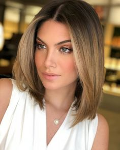 Hair Color 2018 Caramel Hair ❤️ Balayage Is The Hottest New Hair Trend! Here we have collected our favorite balayage hairstyles. Now, you will learn how to get it so that it is absolutely best for you! ❤️ Discovred by : Love Hairstyles Bob Hairstyles For Fine Hair, Short Hairstyles For Women, Hairstyles Haircuts, Cool Hairstyles, Hairstyle Ideas, Hairstyles Pictures, Blonde Haircuts, Bob Haircuts For Women, Long Bob Haircuts