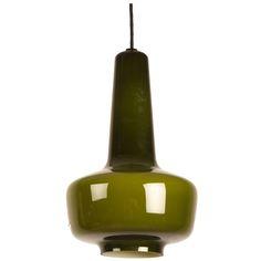 1stdibs | Kreta Jacob Bang Danish Fog & Morup glass lamp