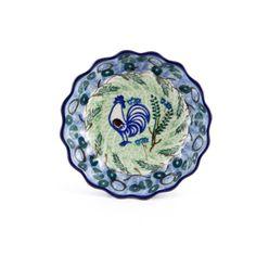 Handmade Ceramic Scalloped Bowl