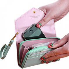 Luxusní velká dámská peněženka s místem na mobil iPhone a kapsou na zip 174 Kč nebo 6.61 Eur - SLEVA 60% + POŠTOVNÉ ZDARMA http://dovezemelevne.cz/katalog/luxusni-velka-damska-penezenka-s-mistem-na-mobil-iphone-a-kapsou-na-zip-sleva-60-postovne-zdarma-14715.html?utm_content=bufferd0f9b&utm_medium=social&utm_source=pinterest.com&utm_campaign=buffer #damska_penezenka #penezenka #sleva #postovne_zdarma