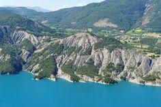 Lac de Serre-Ponçon (Hautes-Alpes / Alpes-de-Haute-Provence - France)