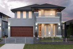 Aspiration - Wisdom homes See for yourself the ways our team will aid you in finding the best solution to create a freedom. Minimal House Design, Minimal Home, 2 Storey House, Storey Homes, New Home Designs, Cool House Designs, Display Homes, Building A New Home, Exterior House Colors