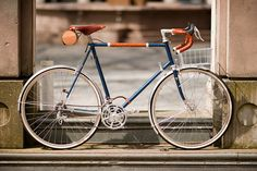 650b Randonneur with Handmade Leather Detail