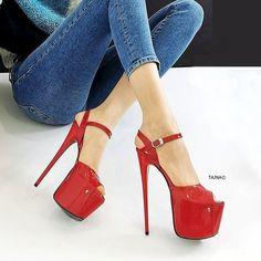 Hot Heels, Sexy High Heels, Platform High Heels, High Heel Boots, Club Shoes, Metallic Heels, Long Boots, Ankle Strap, Stiletto Heels