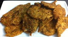 Chicken Breast Fillets coated in home made bread crumbs. Check out our breadcrumb video below!