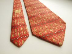 Tie HERMES Paris Made in France 7718 OA 100% by SillyPurpleZephyre