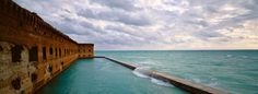 Dry Tortugas National Park - 70 Miles West of Key West Florida