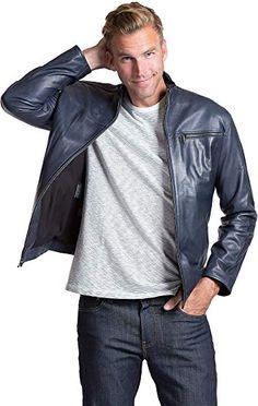 BillzDen Mens Cowboy Leather Jacket with Fringes /& Bones