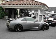 http://chicerman.com  myheartpumpspetrol:  GTR by Lamboshane on Flickr.  #cars