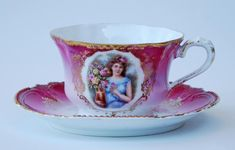 Silver Quill Antiques and Gifts - Antique China Cups and Saucers