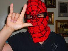 Spiderman hood for my friend, Richie