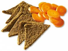 RAW Carrot Flax Crackers