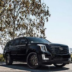 Black and Rose Gold #Escalade