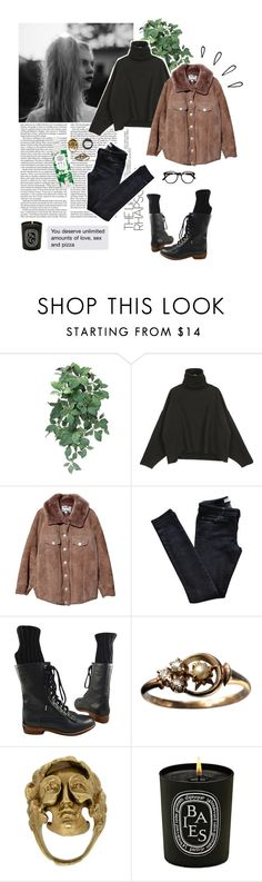 """""""Sin título #696"""" by gabriellasan ❤ liked on Polyvore featuring Acne Studios, Vanessa Bruno Athé, Chanel, Yunus & Eliza, Bershka, Diptyque and Old Navy"""