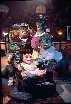 Dinosaurs!!  I loved this show when I was little!