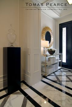 Entry | Tomas Pearce Interior Design Consulting Inc
