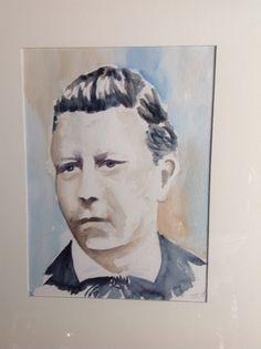Overgrootvader Bouwe van der Woude