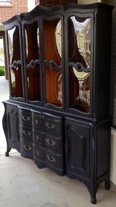 Vintage French Provincial Buffet and Hutch by ProvincialbutFrench, $1500.00