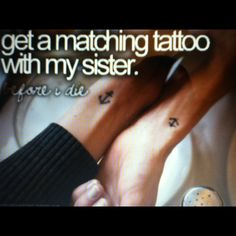 matching tattoo...@Mary Powers Garcia and @Stacey McKenzie Herrera