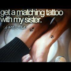 matching tattoo...@Mary Garcia and @Stacey Herrera